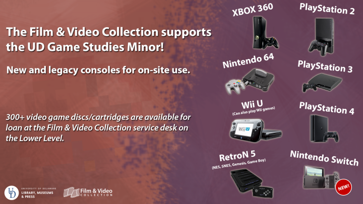 Video Gaming at the Film & Video Collection