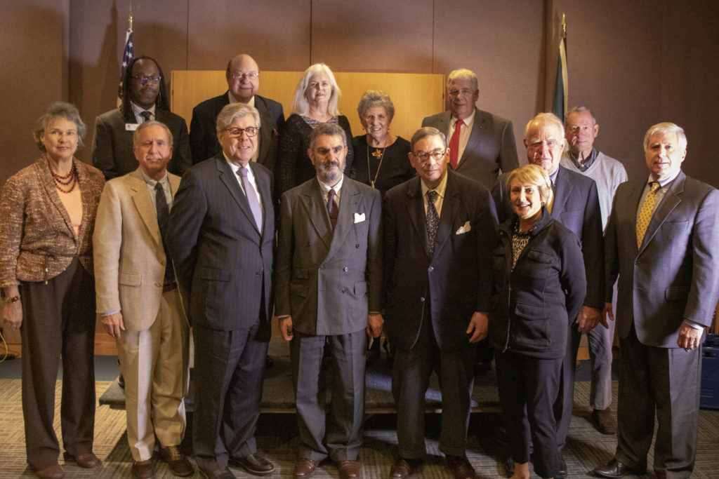 Friends of the University of Delaware Library pose for a picture at the November 7, 2018 annual board of directors meeting.
