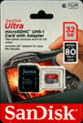 Photo of32GB MicroSD Card with SD Card Adapter