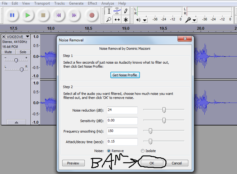 How to remove background noise in Audacity – Student