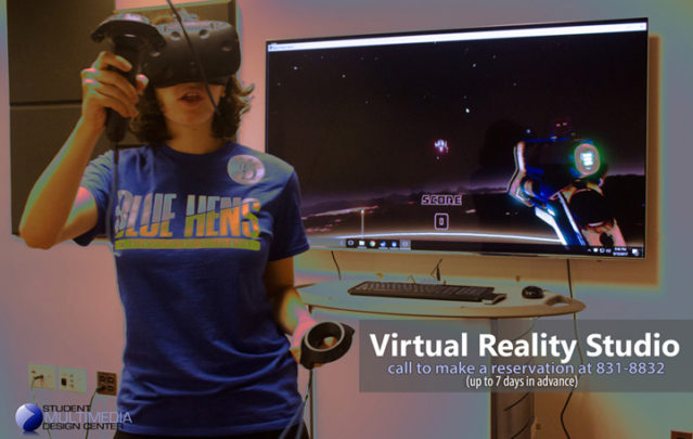 Virtual Reality Studio - call to make a reservation at 831-8832