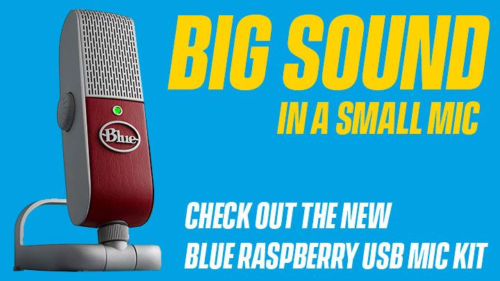 Blue Raspberry Mic Kit