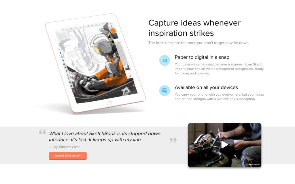 Autodesk Sketchbook is FREE! – Student Multimedia Design Center
