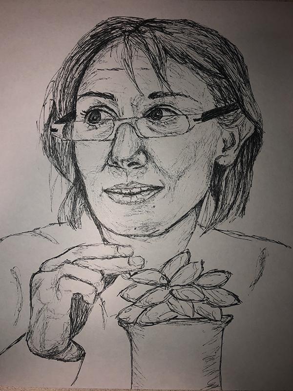 Kelsey Hallisey's illustration for Taking Root