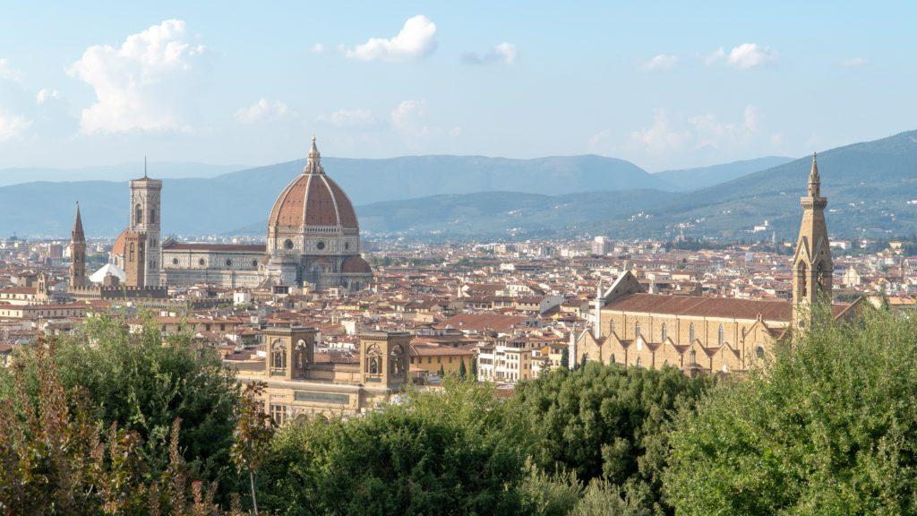 "Photo of Florence, Italy, depicted in the game ""Assassin's Creed II."""