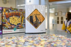 Puzzle desk