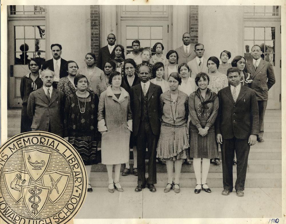 Howard High School Faculty circa 1930