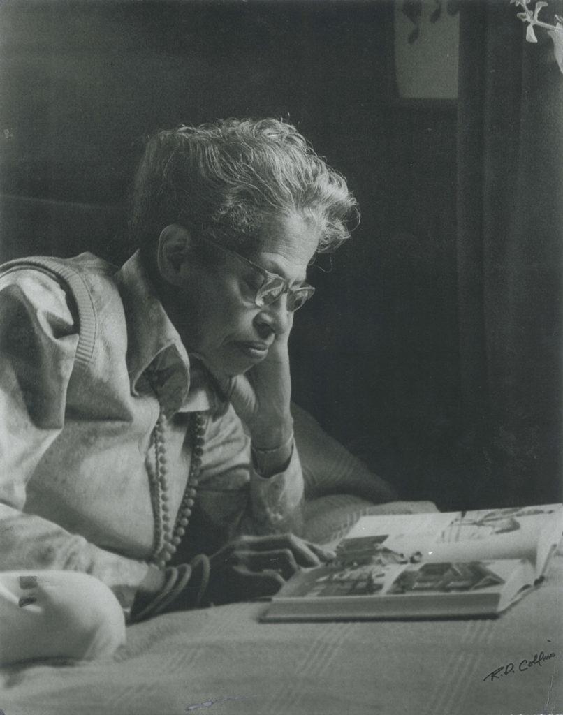 Photo portrait of Pauline A. Young