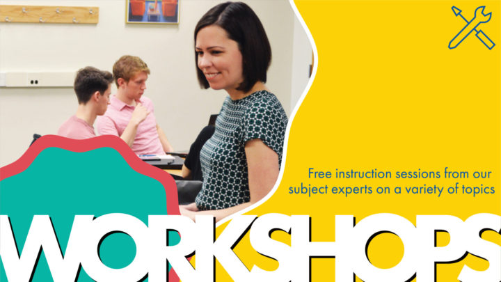 Free instruction sessions from our subject experts on a variety of topics