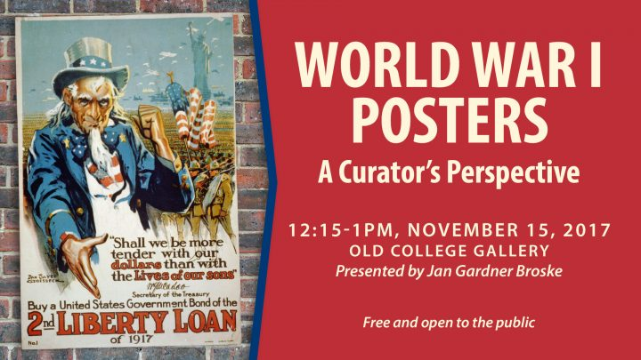 World War I Posters: A Curator's Perspective