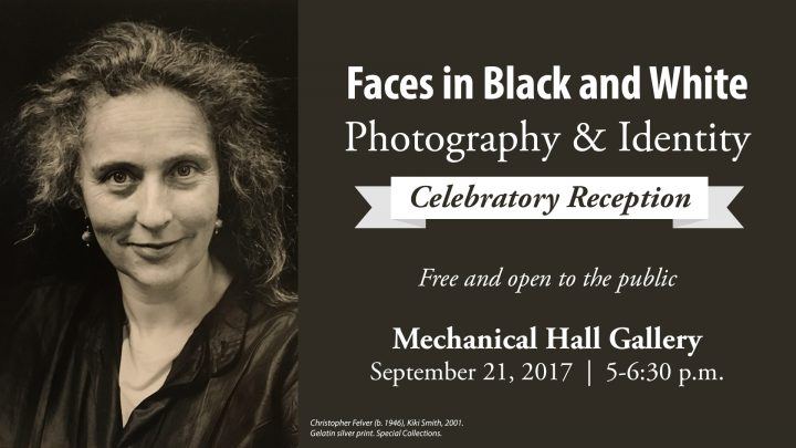 Reception: Faces in Black and White