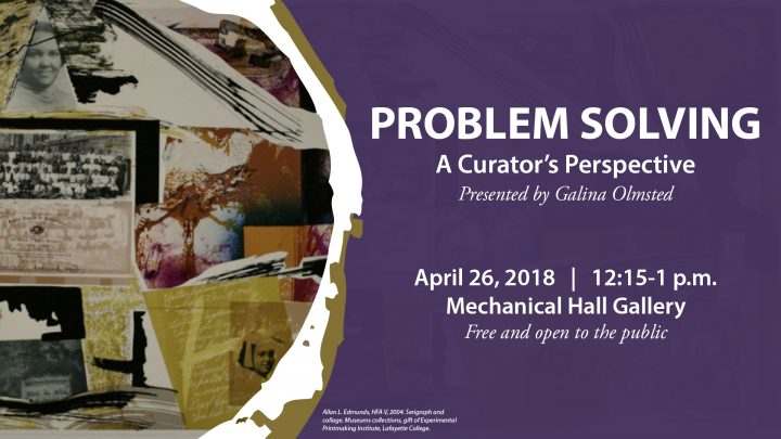 Problem Solving: A Curator's Perspective