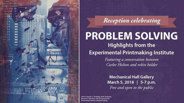Reception celebrating Problem Solving