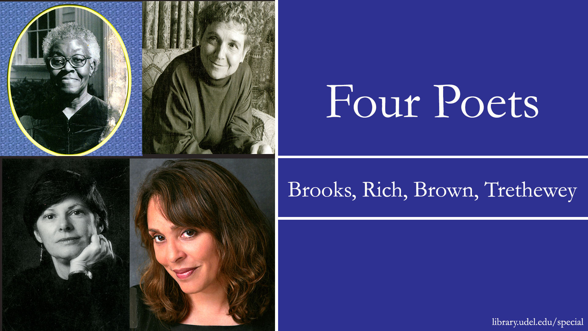 "Image for ""Four Poets"" exhibition"