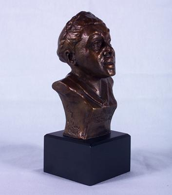 "<p>This small bronze sculpture by Selma Hortense Burke is highlighted on our blog as part of our ""Five Women Artists"" series for Women's History Month.</p> <p>Learn more about Selma Hortense Burke--and Mary McLeod Bethune, the trailblazing educator and activist who is portrayed in this sculpture--on our blog.</p>"