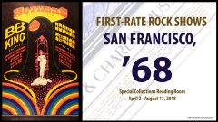 First-rate Rock Shows: San Francisco, '68