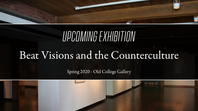 Continuing: Beat Visions and the Counterculture