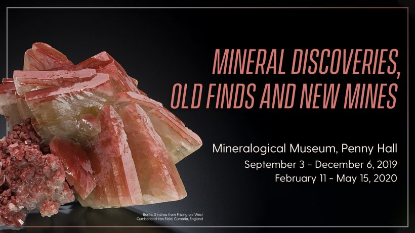 Continuing: Mineral Discoveries, Old Finds and New Mines