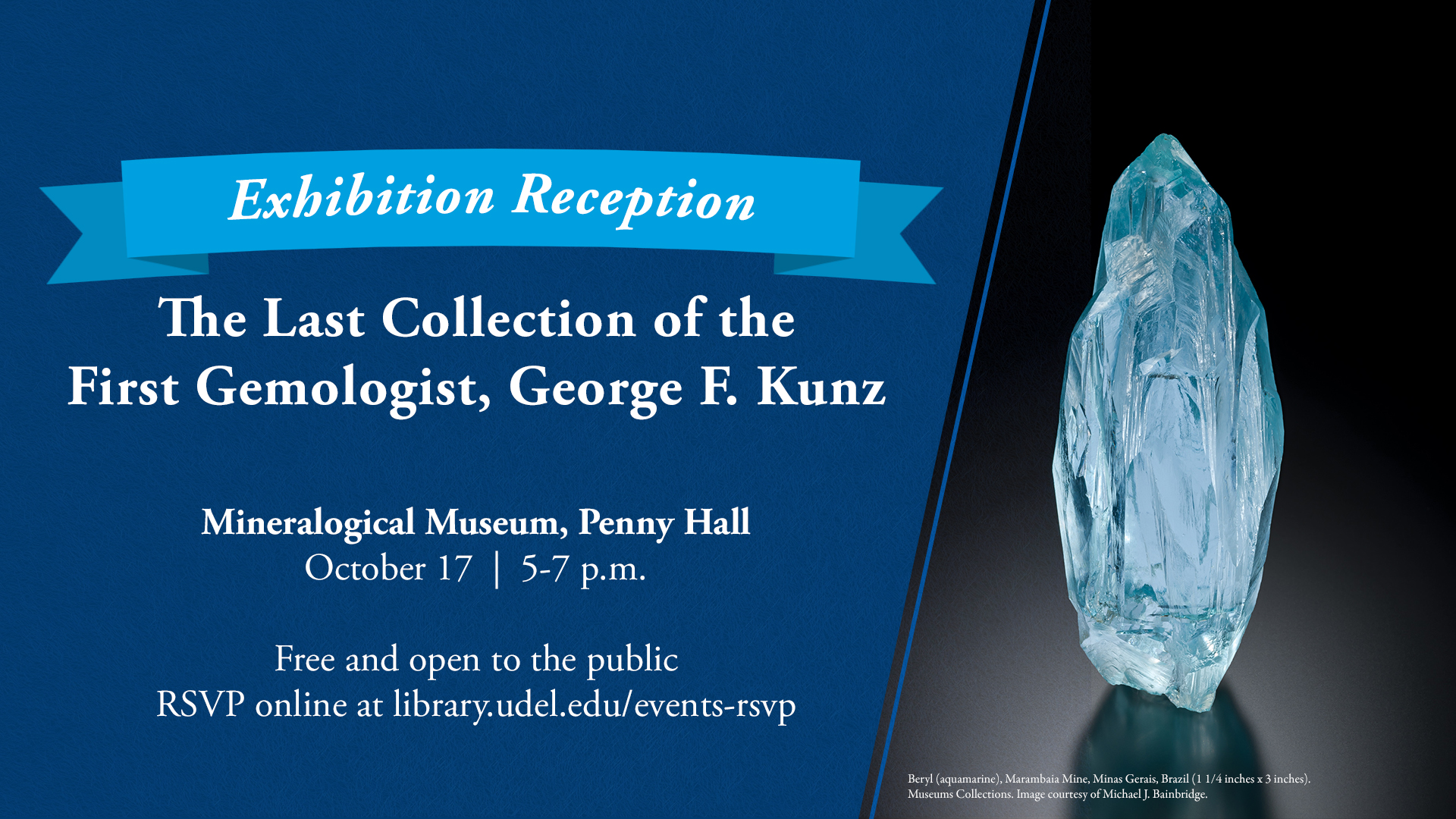 Reception for The Last Collection of the First Gemologist, George F. Kunz