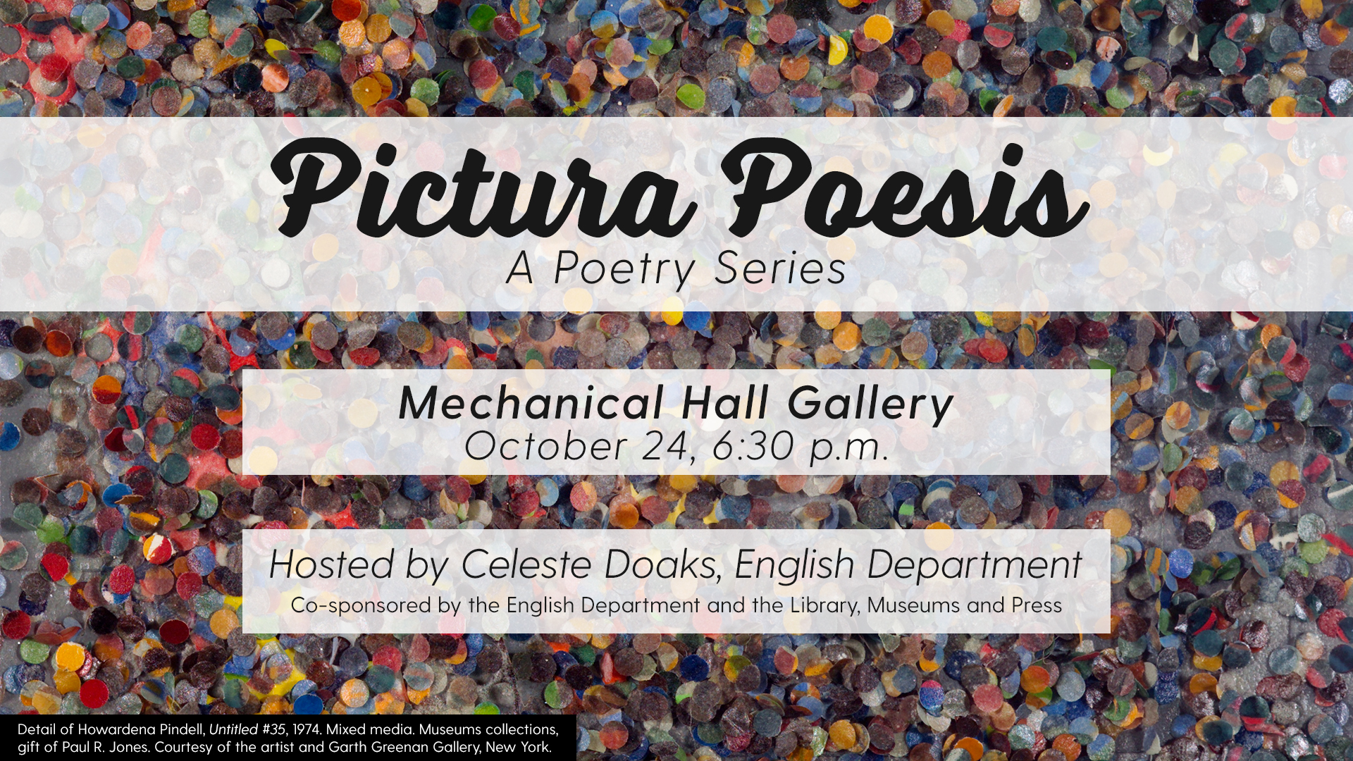 Pictura Poesis: A Poetry Series