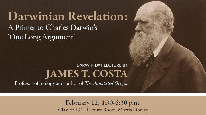 Darwin Day Lecture Promotional Image