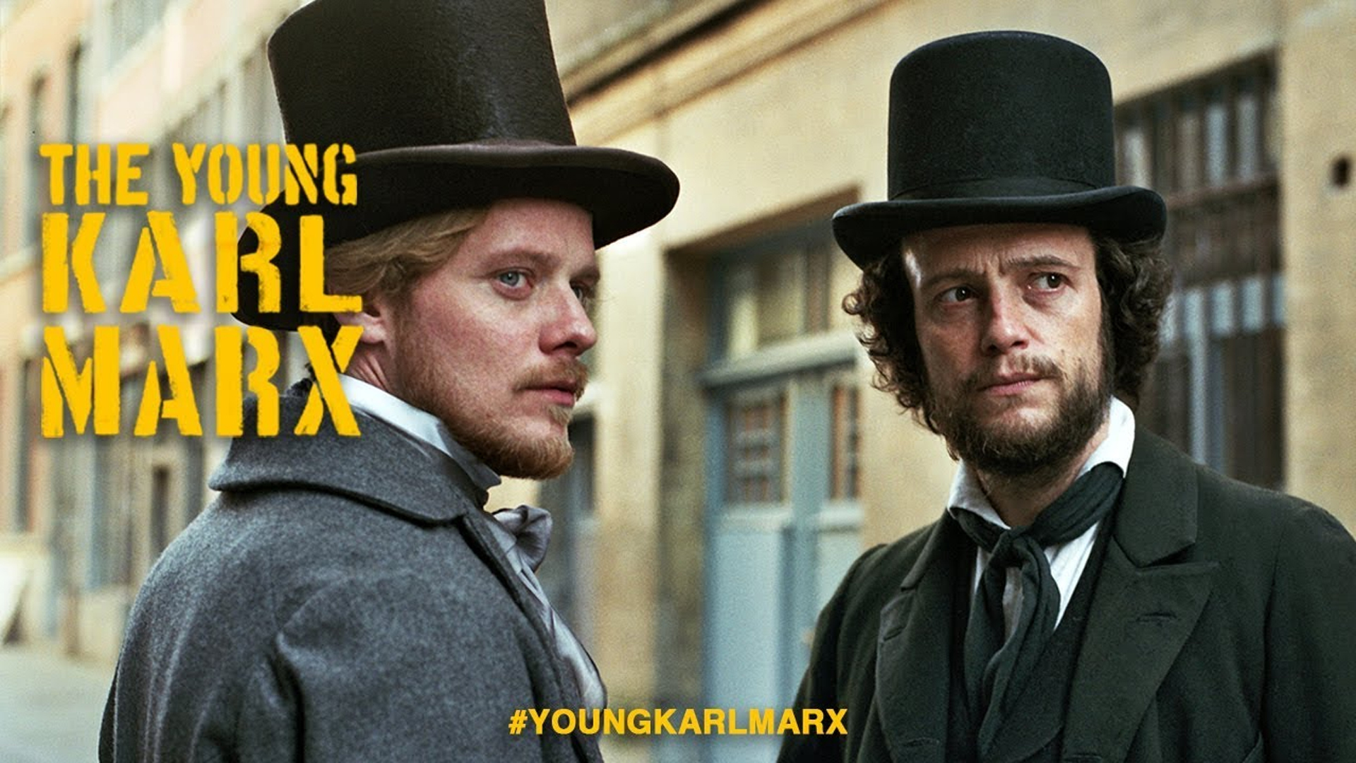 Movie poster for The Young Karl Marx