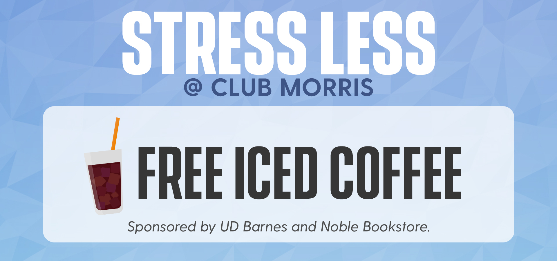 Promotional image for Free Iced Coffee