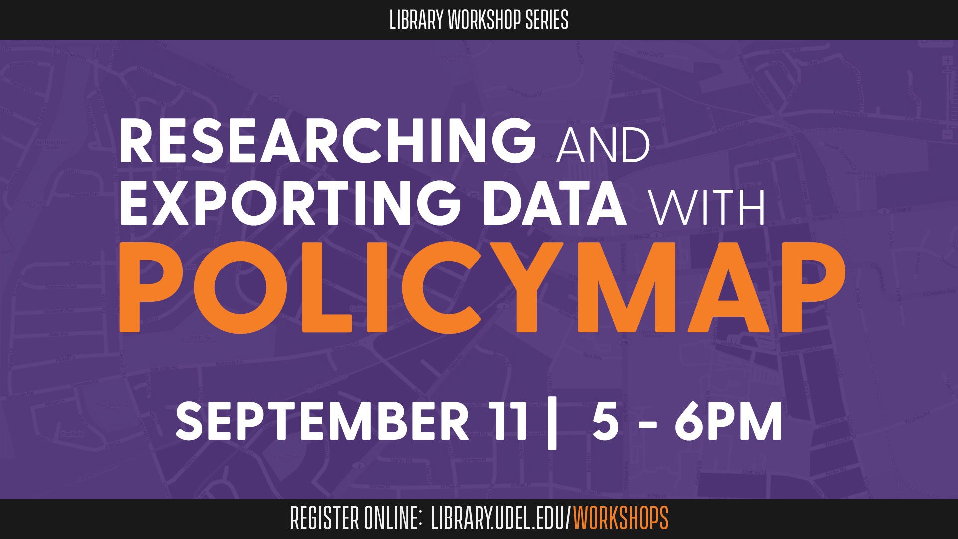 Researching and Exporting Data with PolicyMap
