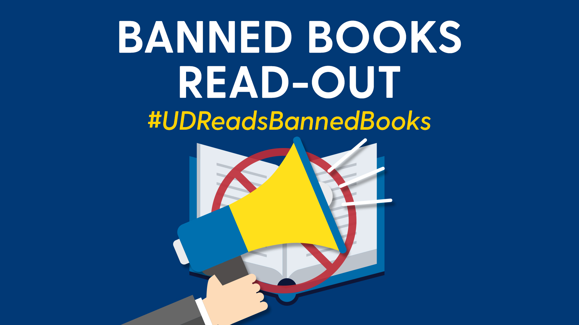 Promotional Image for Banned Books Read-Out