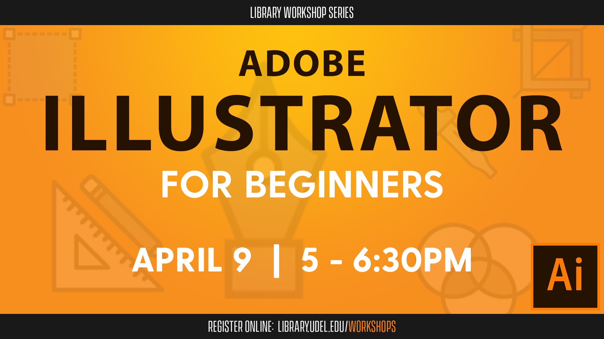 Promotional image for Adobe Illustrator for Beginners