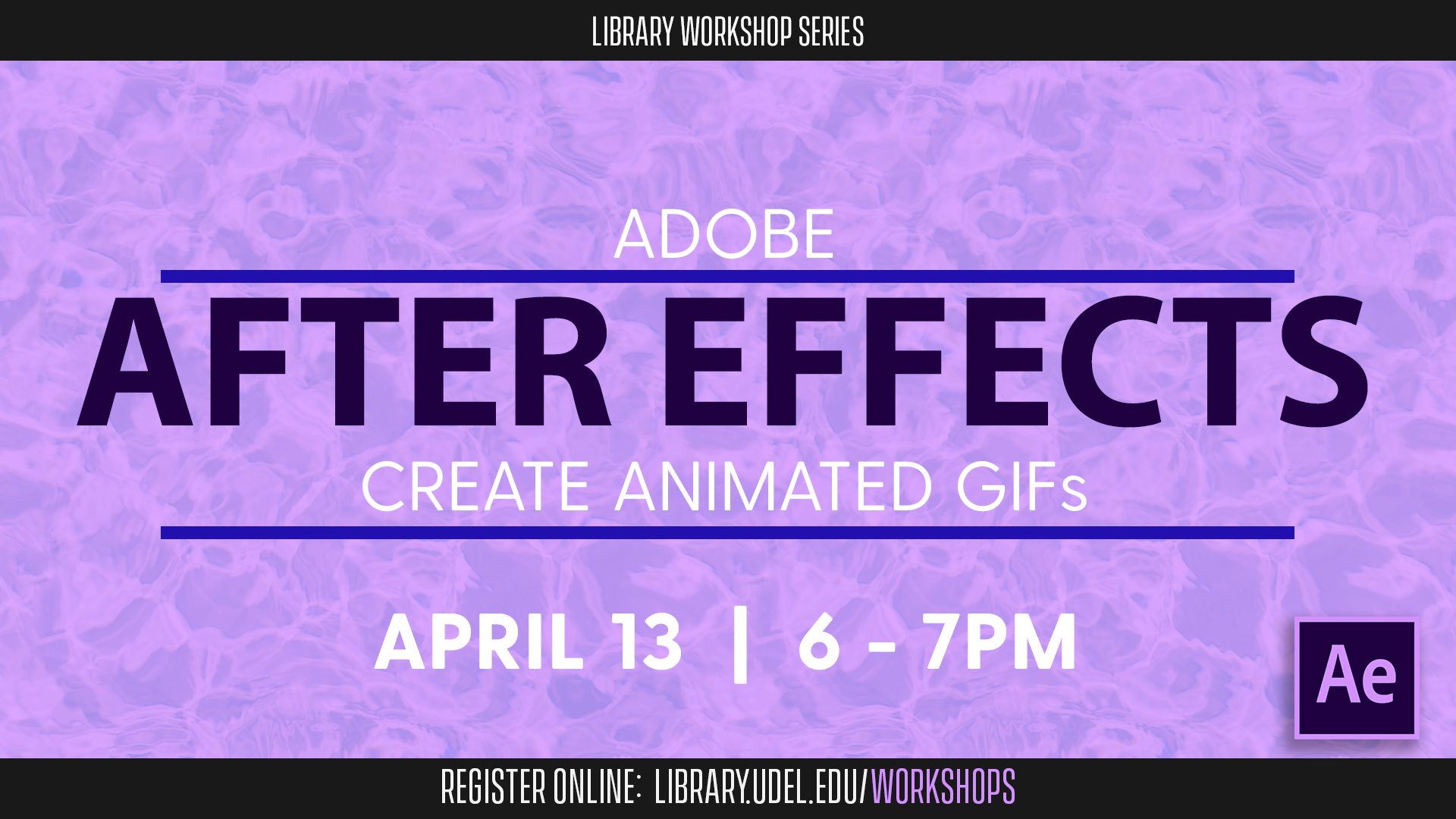 Promotional image for After Effects: Create Animated GIFs