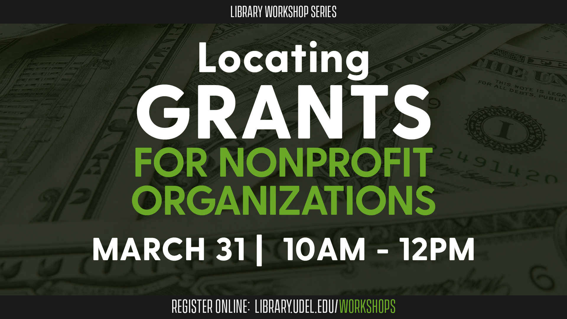 Promotional image for Locating Grants for Nonprofit Organizations
