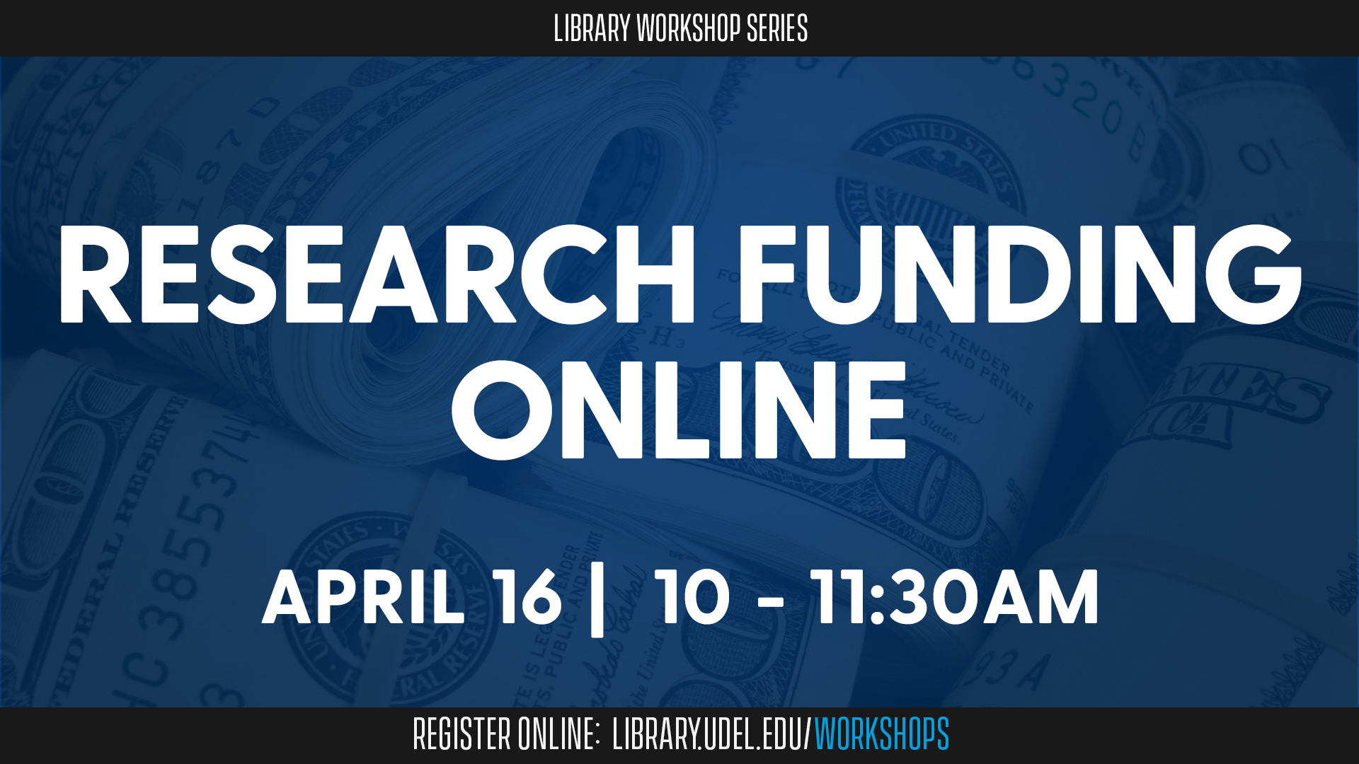 Promotional image for Research Funding Online