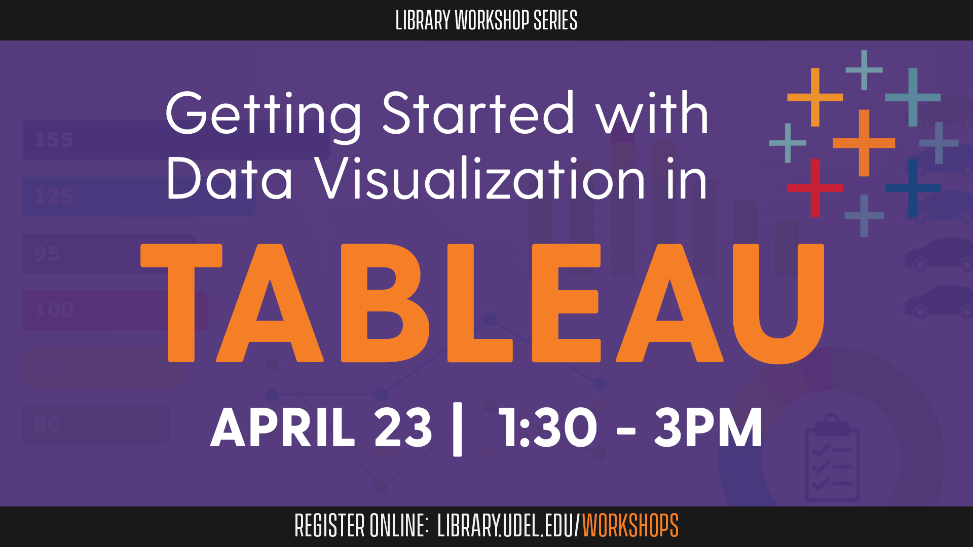 Promotional image for Getting Started with Data Visualization in Tableau