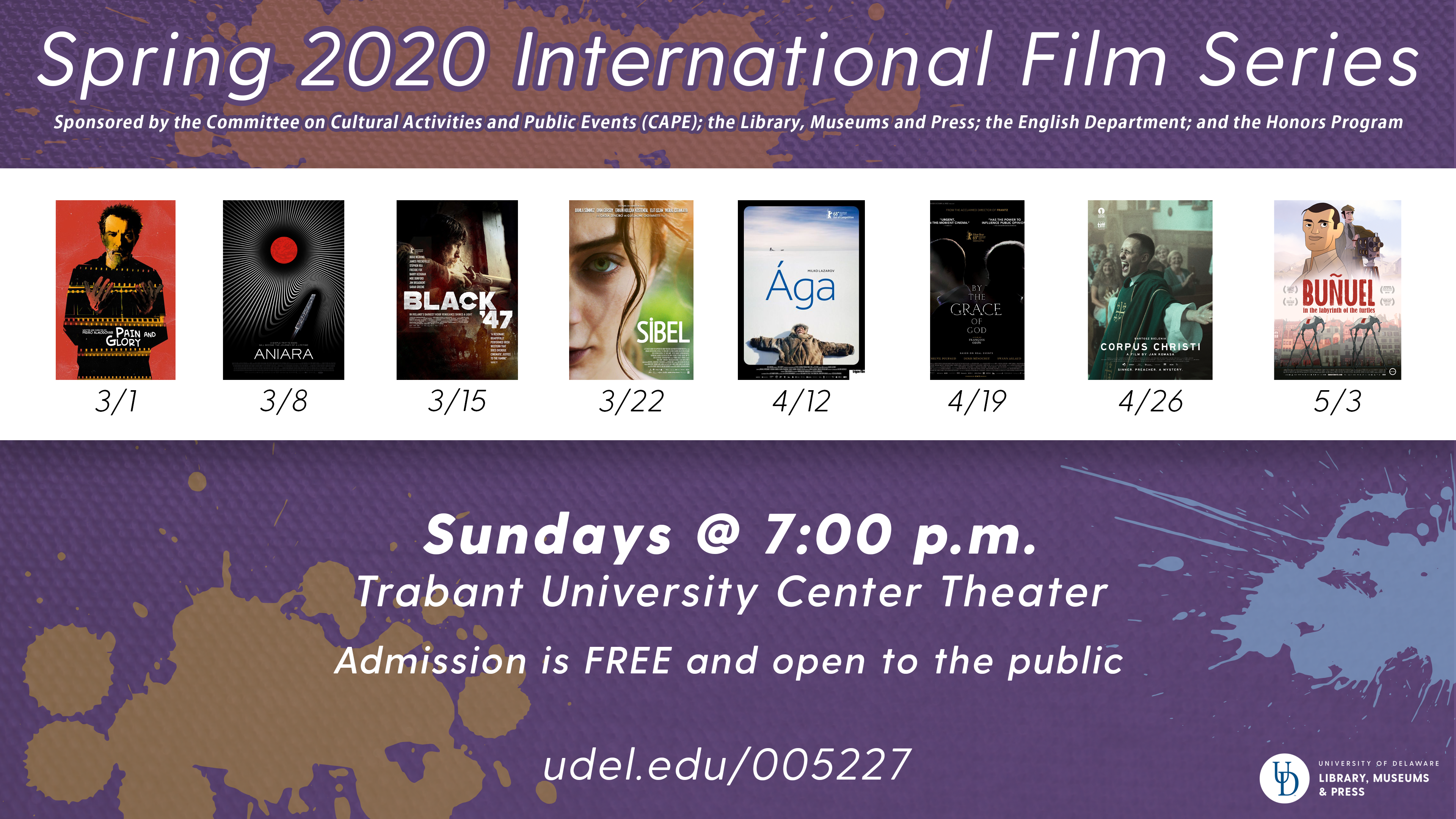 CANCELLED - Spring International Film Series: Buñuel in the Labyrinth of the Turtles