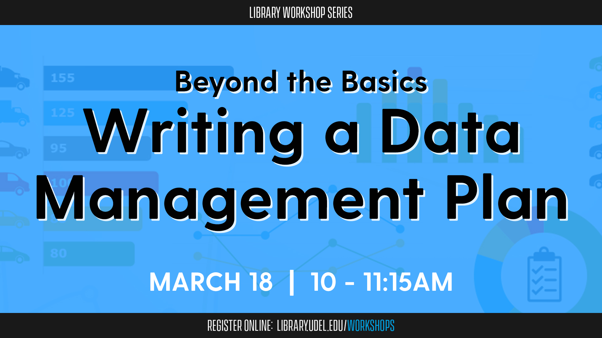 Beyond the Basics: Writing a Data Management Plan