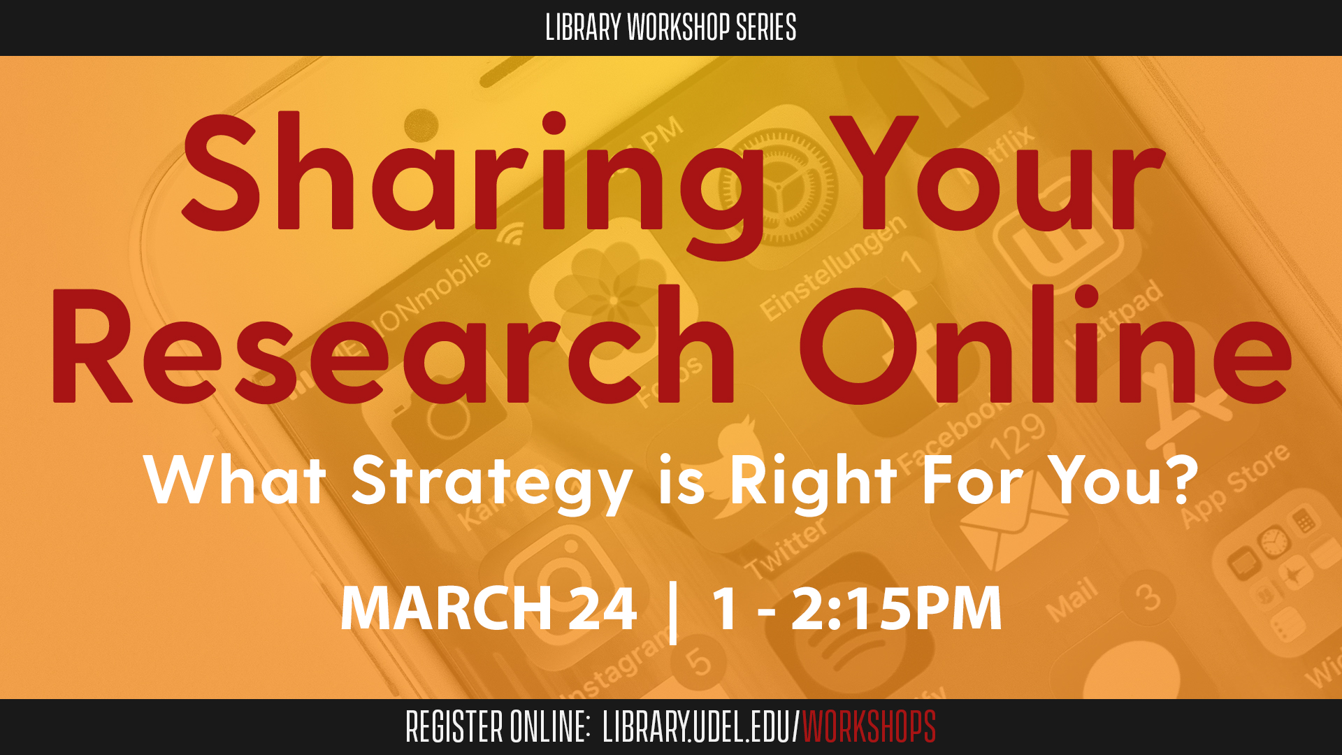 Sharing Your Research Online: What Strategy Is Right For You?