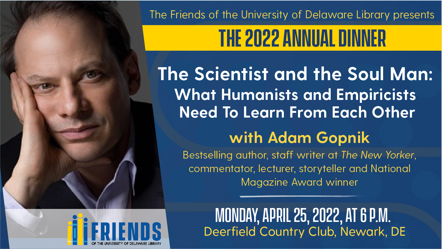 Friends of the University of Delaware Library 2022 Annual Dinner
