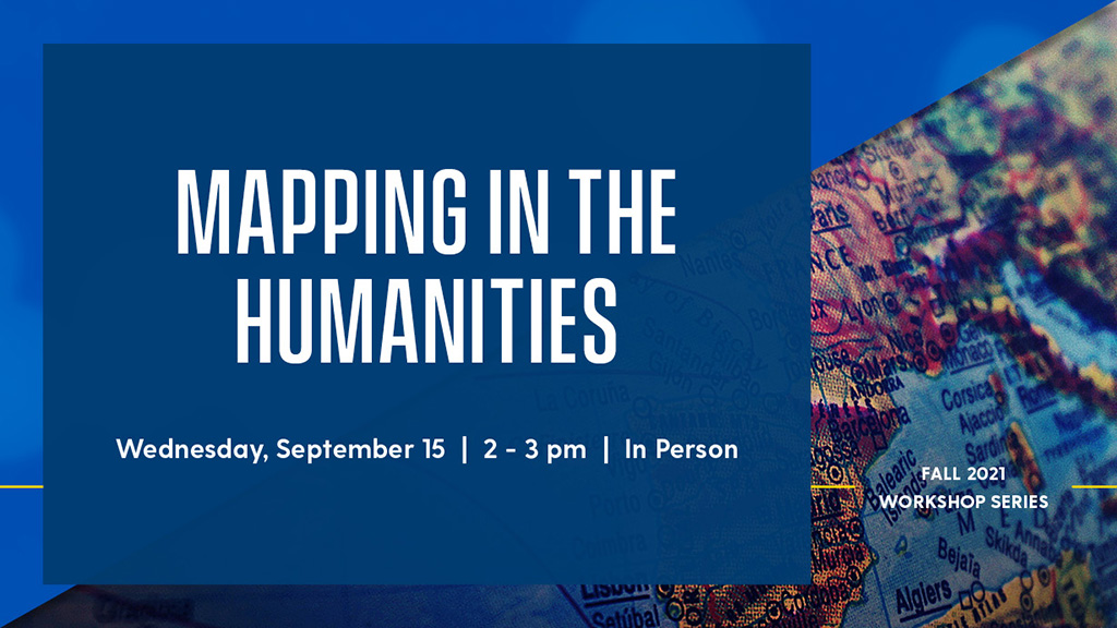 Mapping in the Humanities