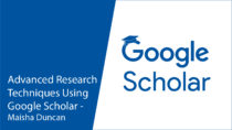 Photo ofAdvanced Research Techniques Using Google Scholar