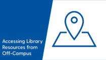 Photo ofAccessing Library Resources from Off-Campus