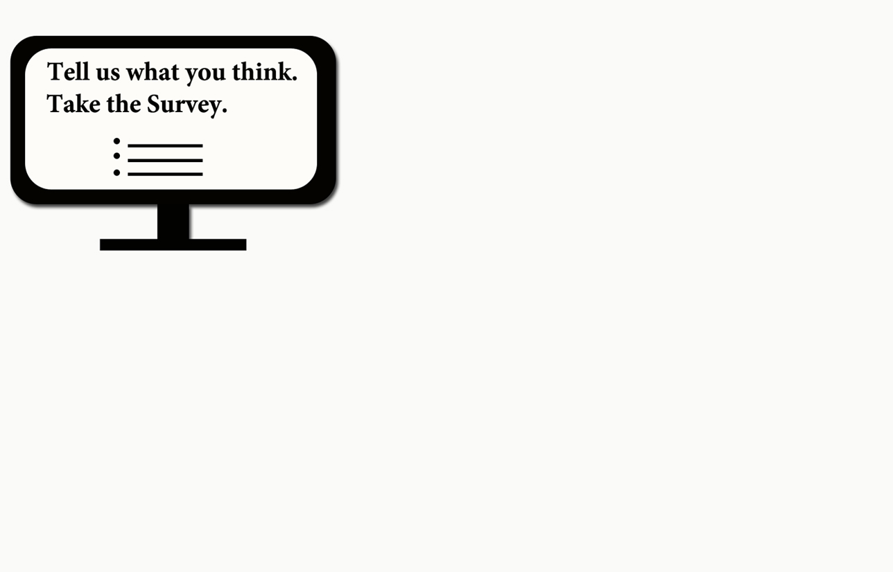 Library User Survey in October 2016