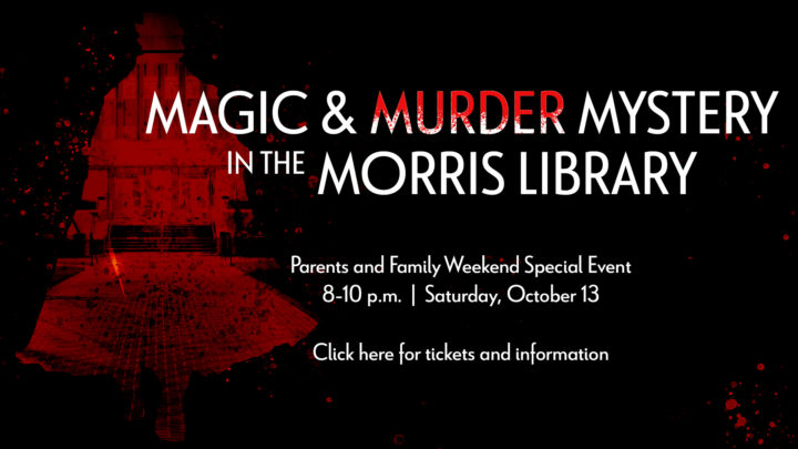 Magic and Murder Mystery in the Morris Library
